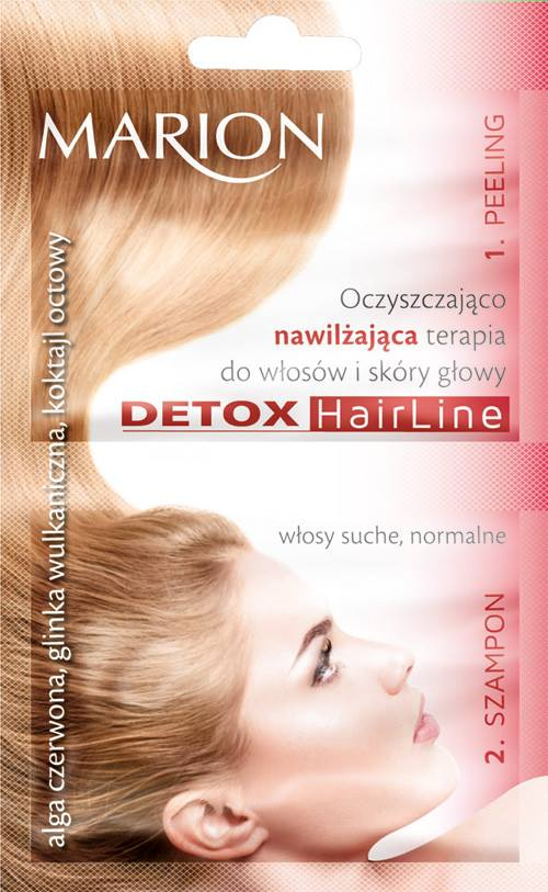 Marion Detox cleansing and moisturizing treatment for hair and scalp