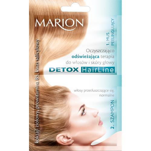 Marion Detox Cleansing and reconstructive treatment for hair and scalpCleansing and refreshing treatment for the hair and scalp