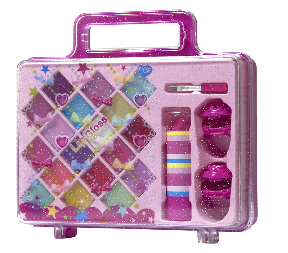 Markwins POP children set glosses for lips briefcase