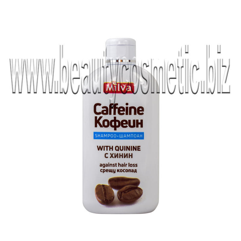 Milva Coffein & Quinine shampoo with double effect against hair loss