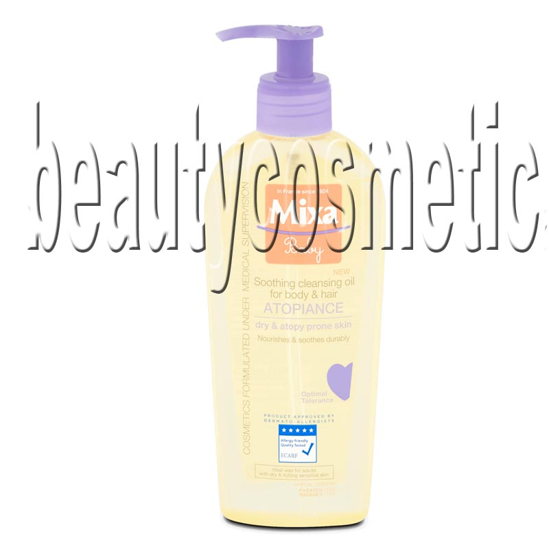 Mixa Baby Atopiance Baby oil for washing hair and body for very dry and atopic skin