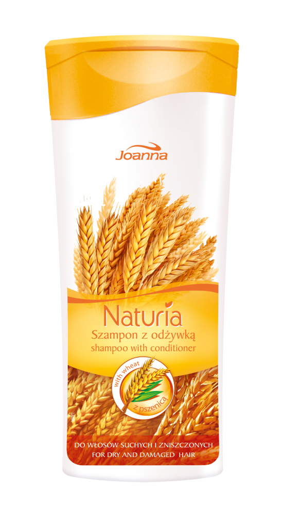 Joanna Naturia Shampoo 2 in 1 for dry and damaged hair