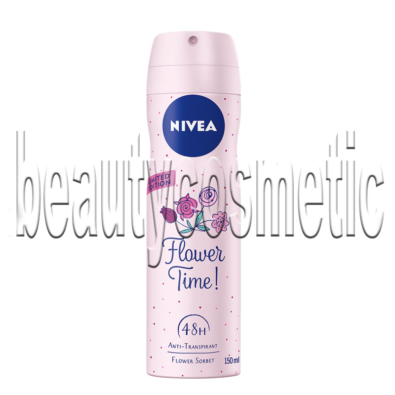 Nivea Flower Time део спрей