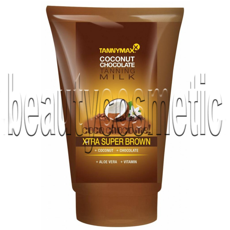 Tannymax Xtra Super Brown Coconut Chocolate Tanning Solarium Milk 50ml