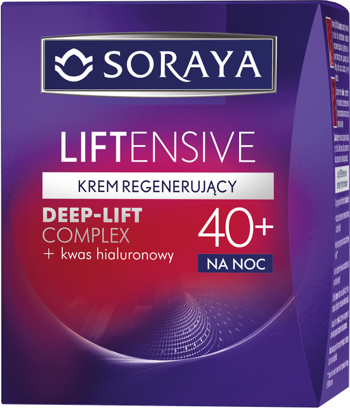 Soraya Liftensive Night lifting cream 40+