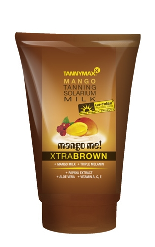 Tannymax Xtra Brown Mango Tanning Solarium Milk 50ml