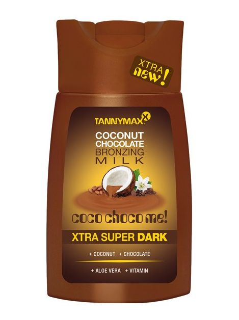 Tannymax Xtra Super Dark Coconut Chocolate Tanning Solarium Milk 200ml