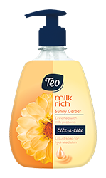 TEO milk rich Tete-a-tete Sunny Gerber течен сапун
