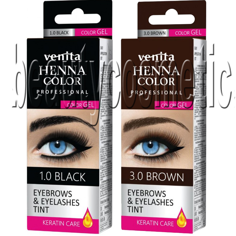 Venita gel henna for eyebrows and eyelashes