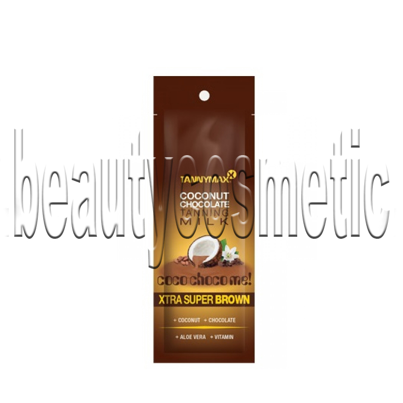 Tannymax Xtra Super Brown Coconut Chocolate Tanning Solarium Milk 15ml