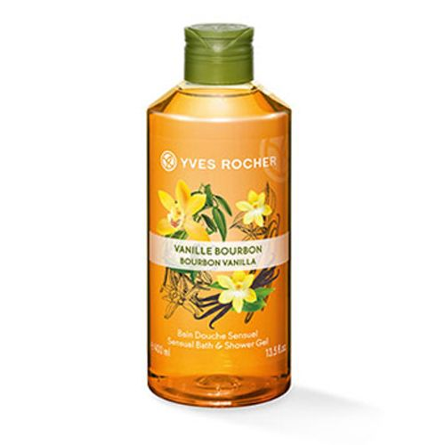 Yves Rocher Shower Gel Bourbon Vanilla