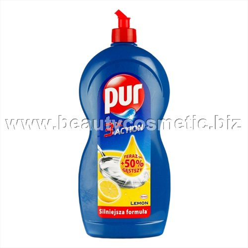 PUR Lemon 3xAction препарат за съдове 450ml