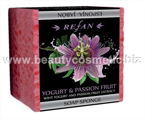 Refan Yogurt & Passion Fruit пилинг Сапун-гъба