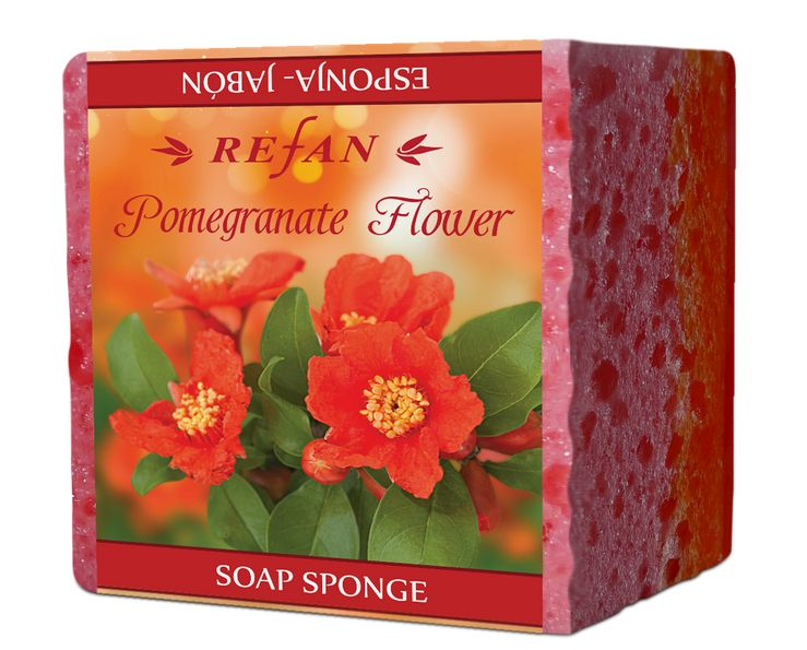 Refan Pomegranate Flower сапун гъба