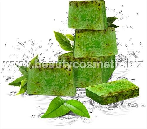 Refan Aloe & Green Tea handmade soap 1 kg