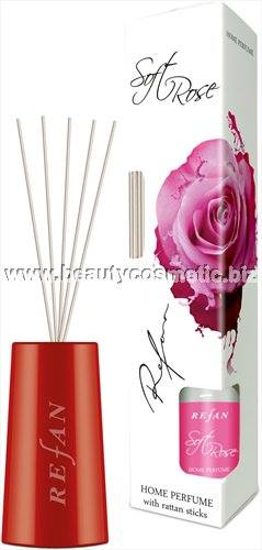 Refan Soft Rose Perfume home with rattan sticks