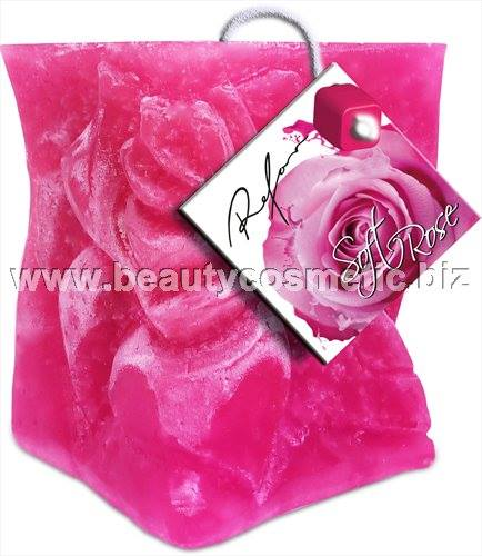 Refan Soft Rose Perfumed Candle