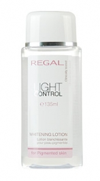 Regal Light Control Whitening lotion for pigmented skin