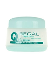 NIGHT CREAM anti-wrinkles REGAL Q10+Refresh for normal and mixed