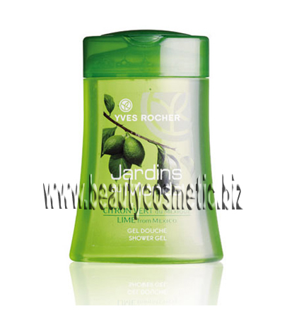 Yves Rocher Jardins du Monde Lime from Mexico душ гел