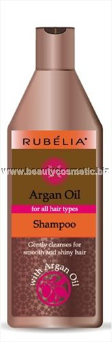 Rubelia Argan Oil shampoo for soft and smooth hair