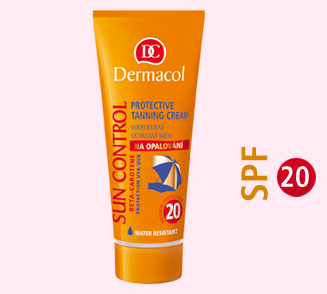 Dermacol suncontrol SPF 20 water-proof tanning cream