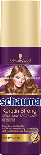 Schauma Keratin Strong Spray Care Leave