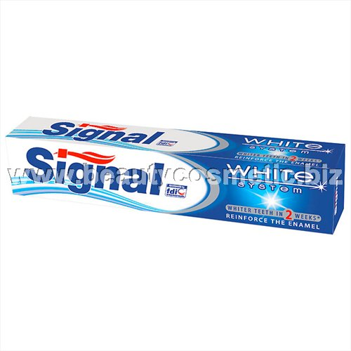 Signal White System паста за зъби