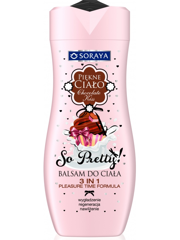 Soraya Beautiful Body Lotion Chocolate kiss