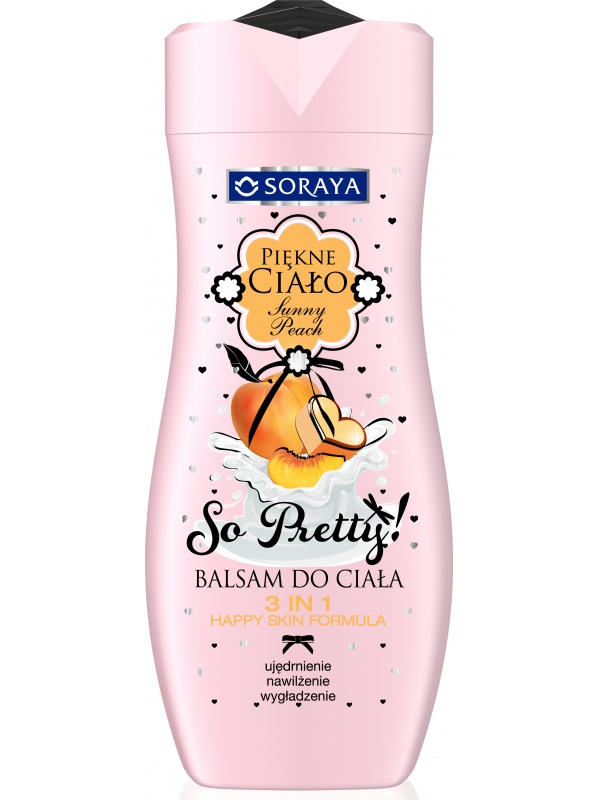 Soraya Beautiful Body Lotion Sunny Peach
