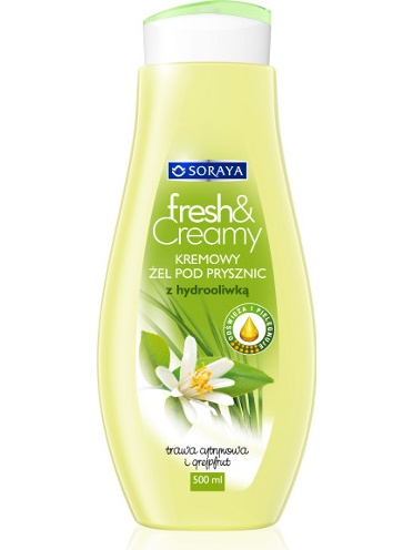 Soraya Fresh & Creamy Lemongrass & Grapefruit Shower Gel