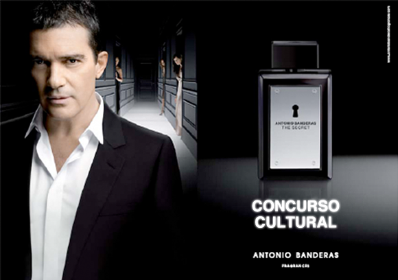 Antonio Banderas The Secret deo spray