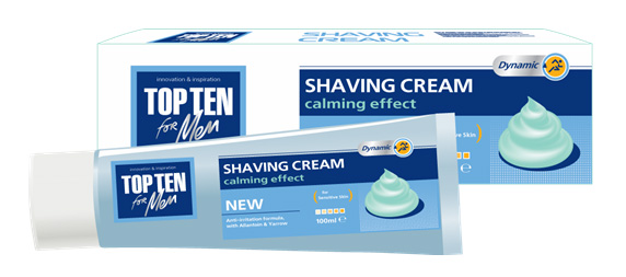 TOP TEN shaving cream for sensitive skin