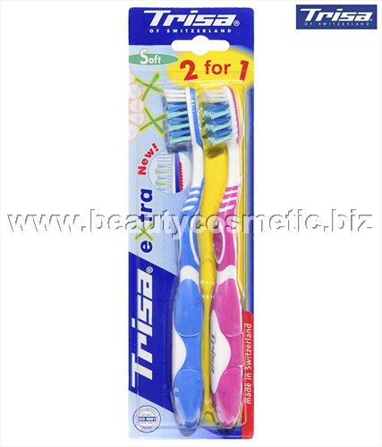 Trisa Extra Medium 1 +1 Toothbrush