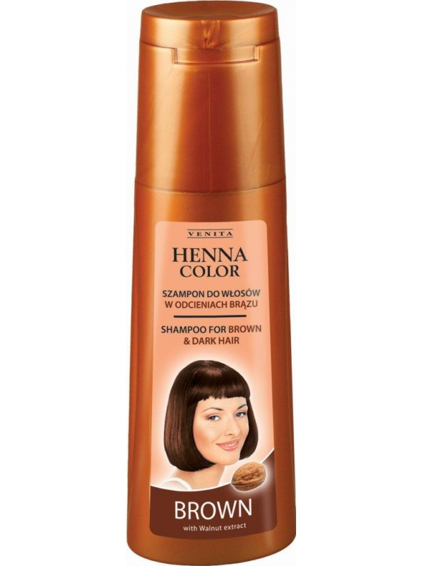 Venita Henna shampoo for brown and dark hair