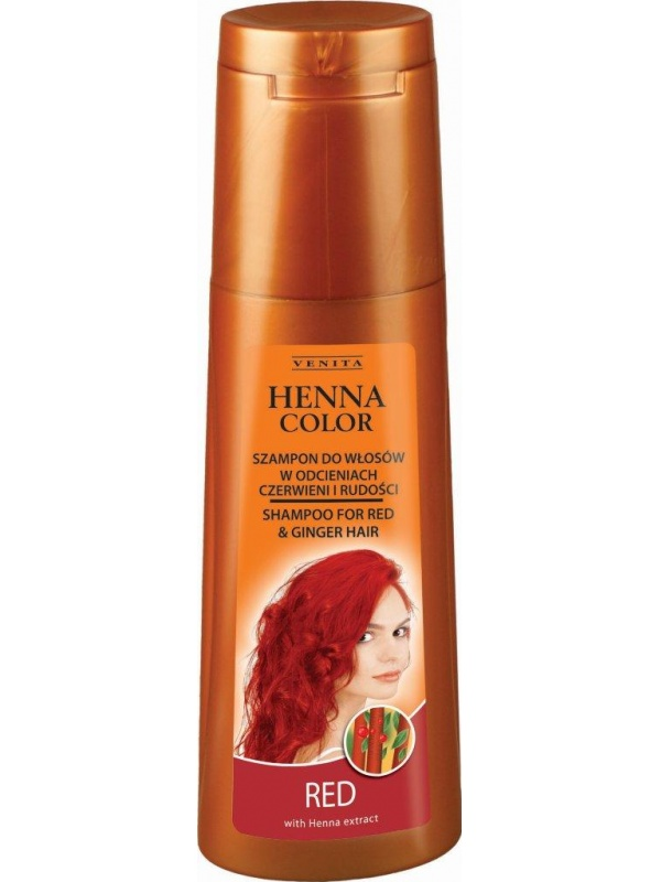 Venita Henna shampoo for red hair