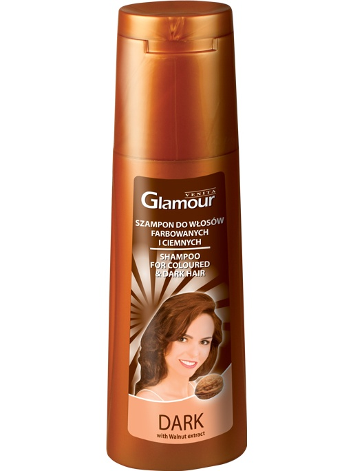 Venita Glamour shampoo for dark hair