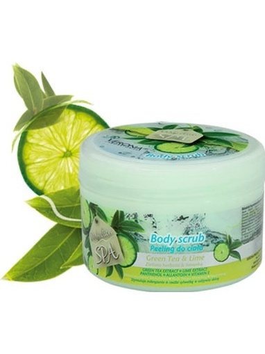 Verona SPA Green Tea & Lime Body Peeling