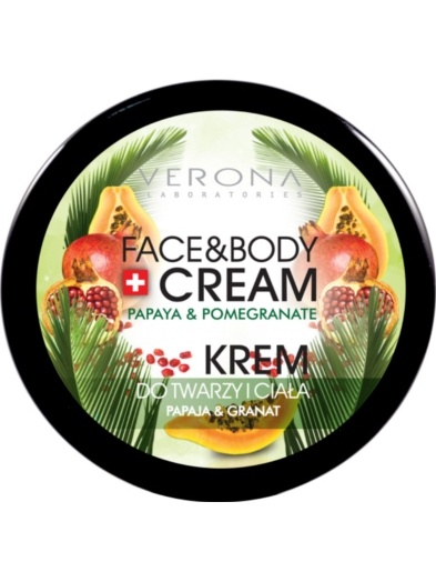 Verona Cream and Body Papaya & Pomegranate
