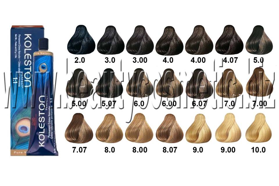 Wella Koleston Perfect Pure Naturals Hair Dye Beautycosmetic Online