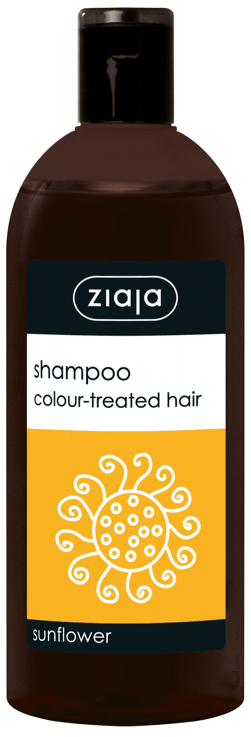 Ziaja Shampoo for colored hair with sunflower extract
