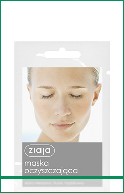 Ziaja cleansing mask with kaolin clay